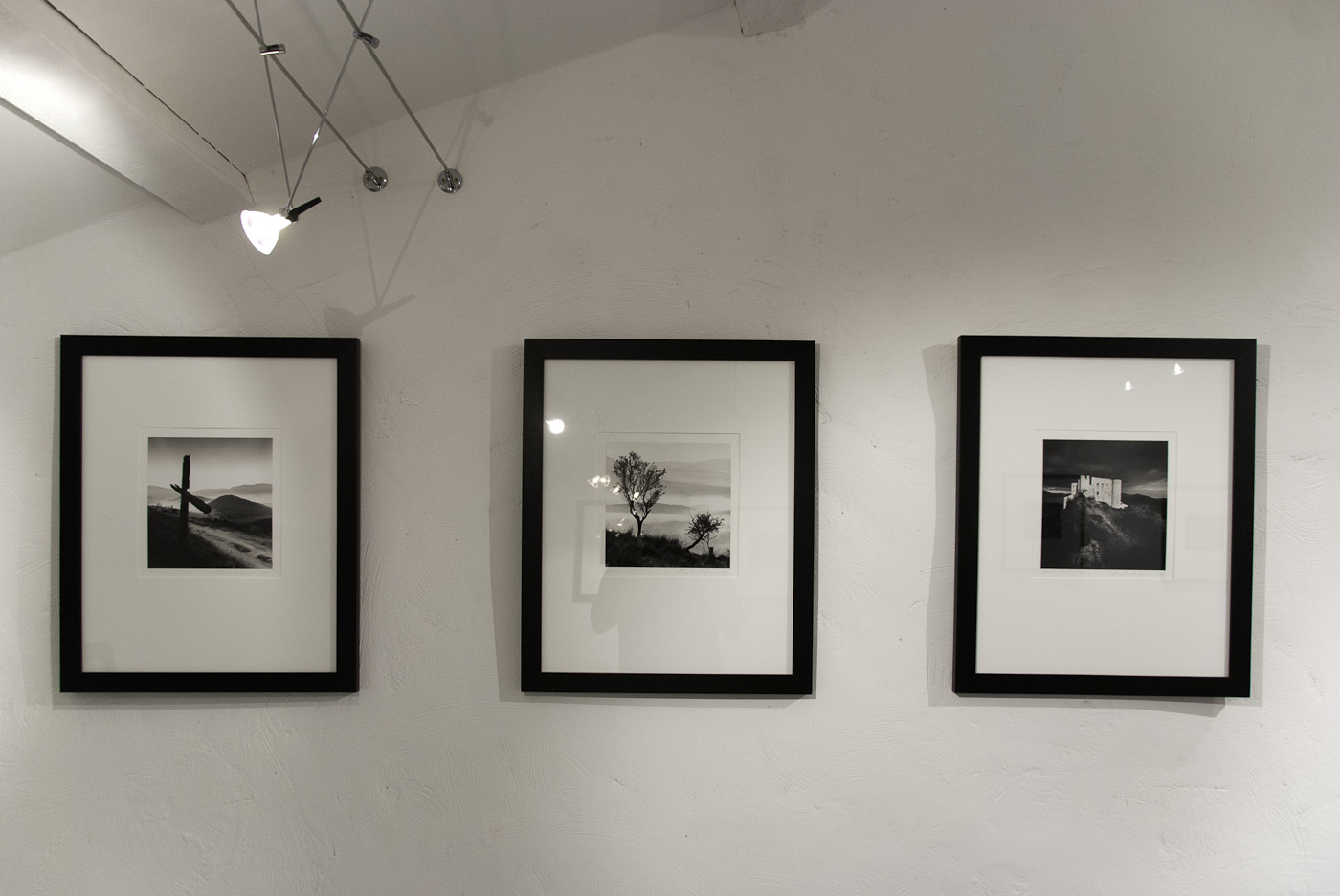 Three prints from the Michael Kenna exhbition, Bargeme
