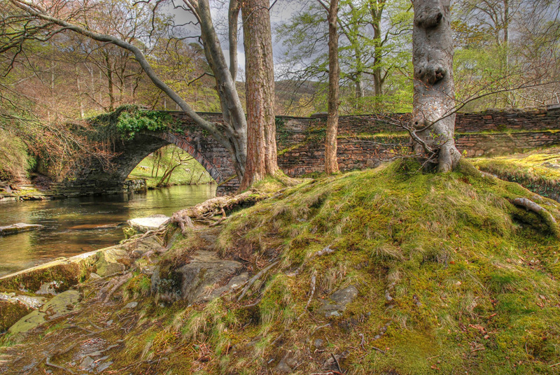 A fairy tale bridge in North Wales imaged in HDR with a Nikon D80