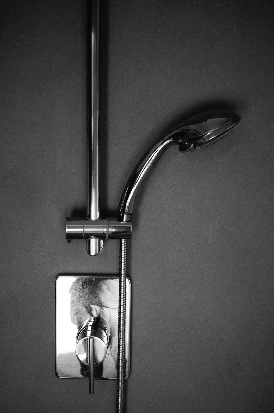 A product shot of a shower using the Sony NEX-5N