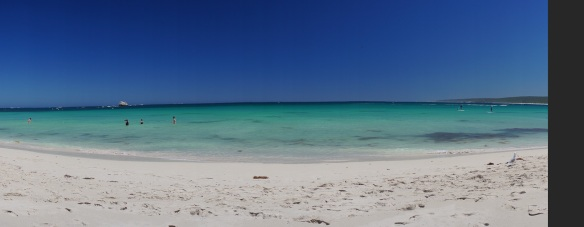 A broken panorama of Hamelin Bay, Western Australia. Panorama using the Sony NEX-5N and Zeiss ZM Biogon 25/2.8