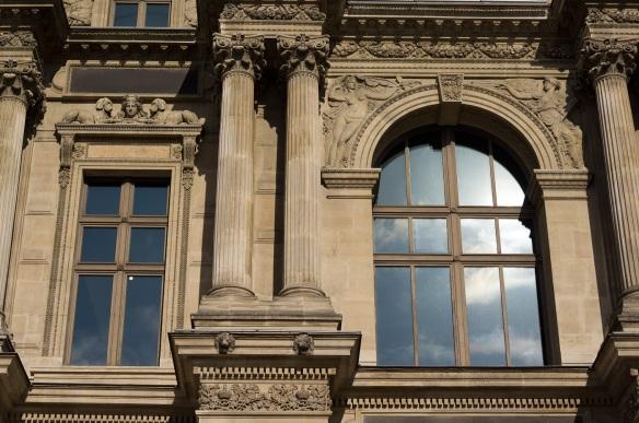 Two windows at the louvre in Paris. Sony NEX-5N & zeiss bigon 25 zm