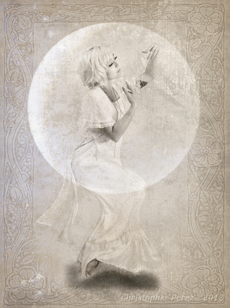 Moon Worship, Miss Stephanie Lee, by Christopher Perez