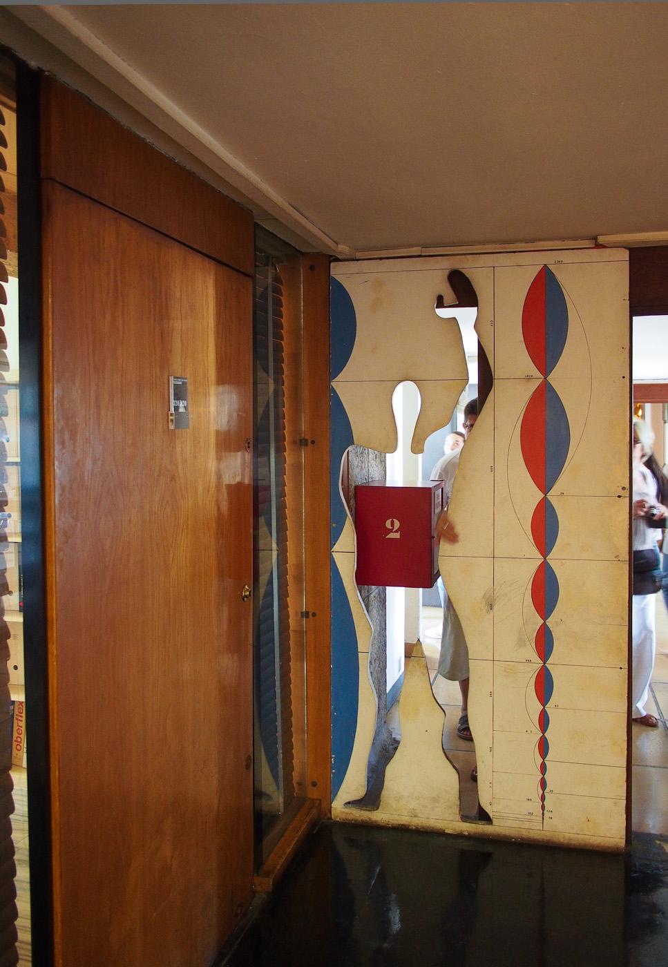Man, the standard size unti for Le Corbusier's La Cité Radieuse, Marseilles. Olympus OM-D EM-5