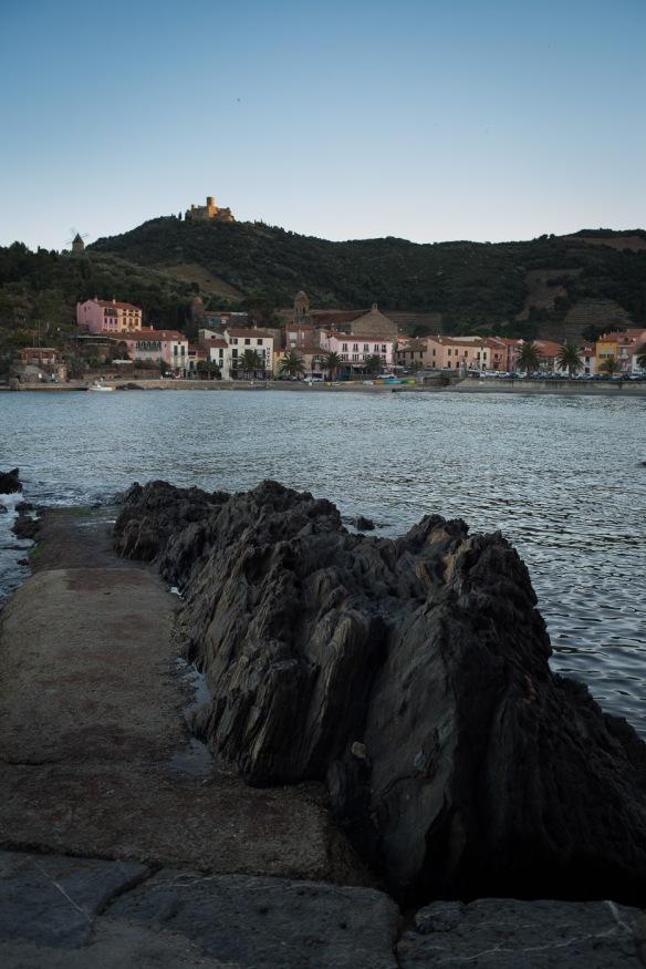 A castle overlooking Collioure - Nikon D800e & Leica Summicron-R 35mm f/2