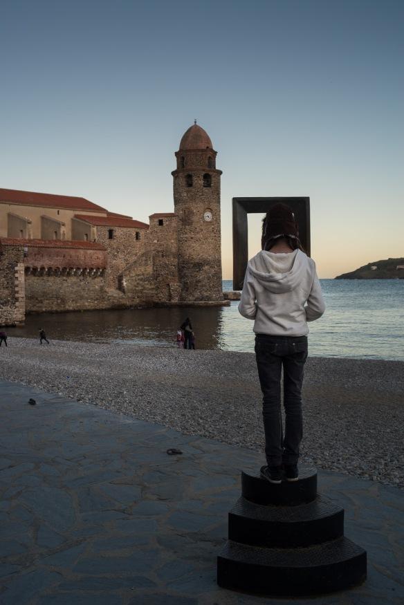 Viewing Collioure - Nikon D800e & Leica Summicron-R 35mm f/2
