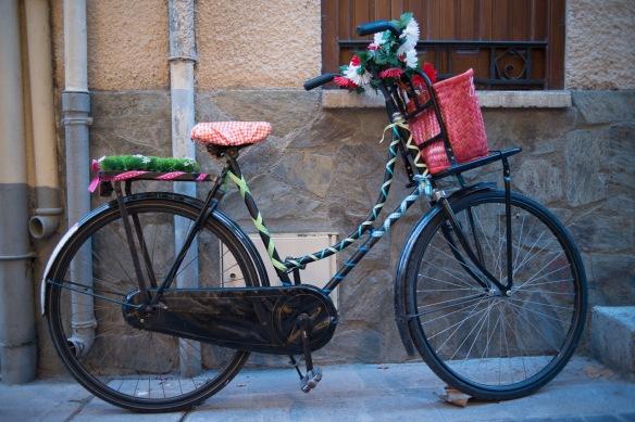 Colourful bike in Collioure - Nikon D800e & Summicron-R 35:2
