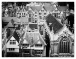Brasenose College in Oxford from Saint-Mary the Virgin