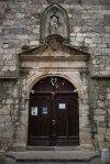 Church door in Provence