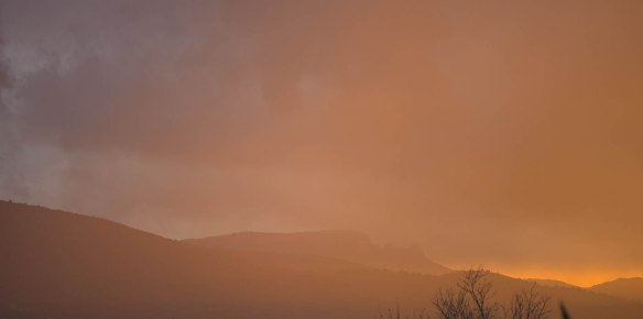 Sunset over Provence - Sony A7r & Leica APO-Telyt-M 135/3.4