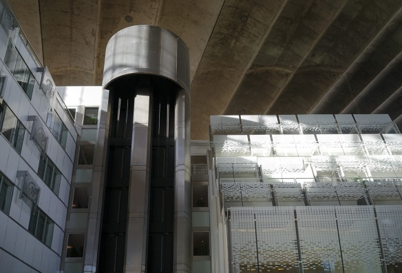 Inside the CNIT at La Défense, Paris. Sony A7r