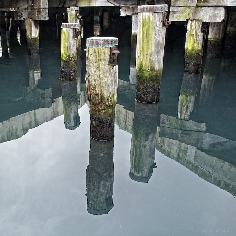 The photograph that started it all, although I didn't know it at the time. Waterfront piles, Wellington. Nikon D2x, Nikkor 18-70 zoom.