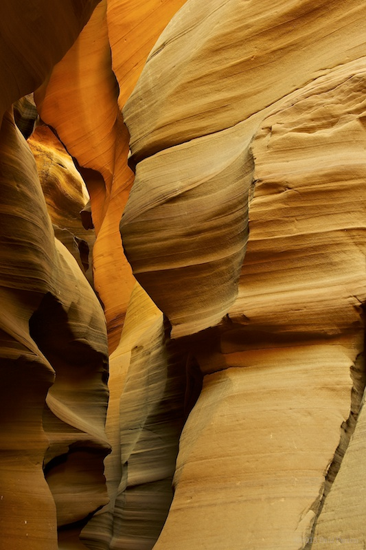 Antelope Canyon. When I asked the leader how to bring the dramatic colour out in my photographs, he shrugged and walked away.