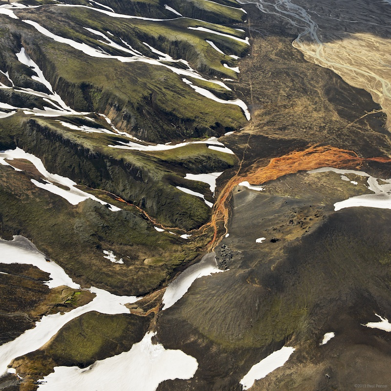 Iceland's Landmannalaugar from the tour's helicopter. This was a very well run, organised and managed experience. Highly recommended.