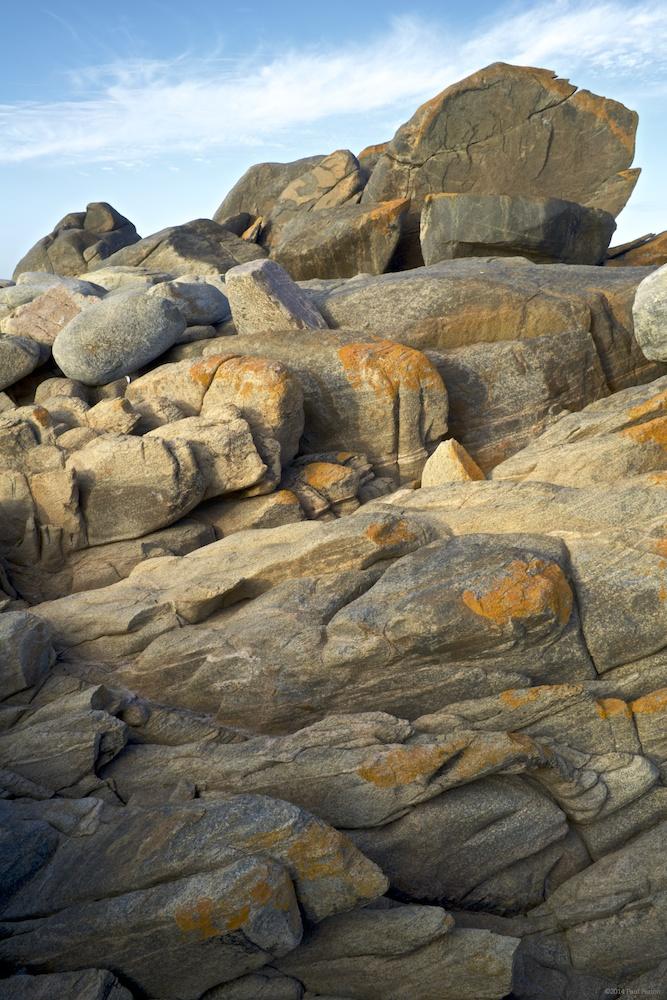 Rocky shoreline, Noup